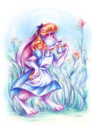 Alice the White Rabbit