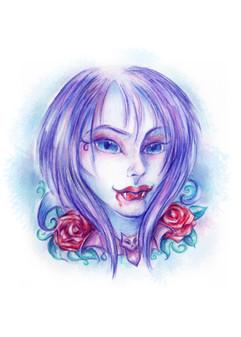 Pastel Goth Vampire