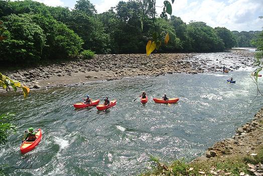 Whitewater Canoeing,  Sarapiqui River, Costa Rica