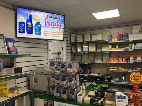 Flagg Court Pharmacy Digital Signage