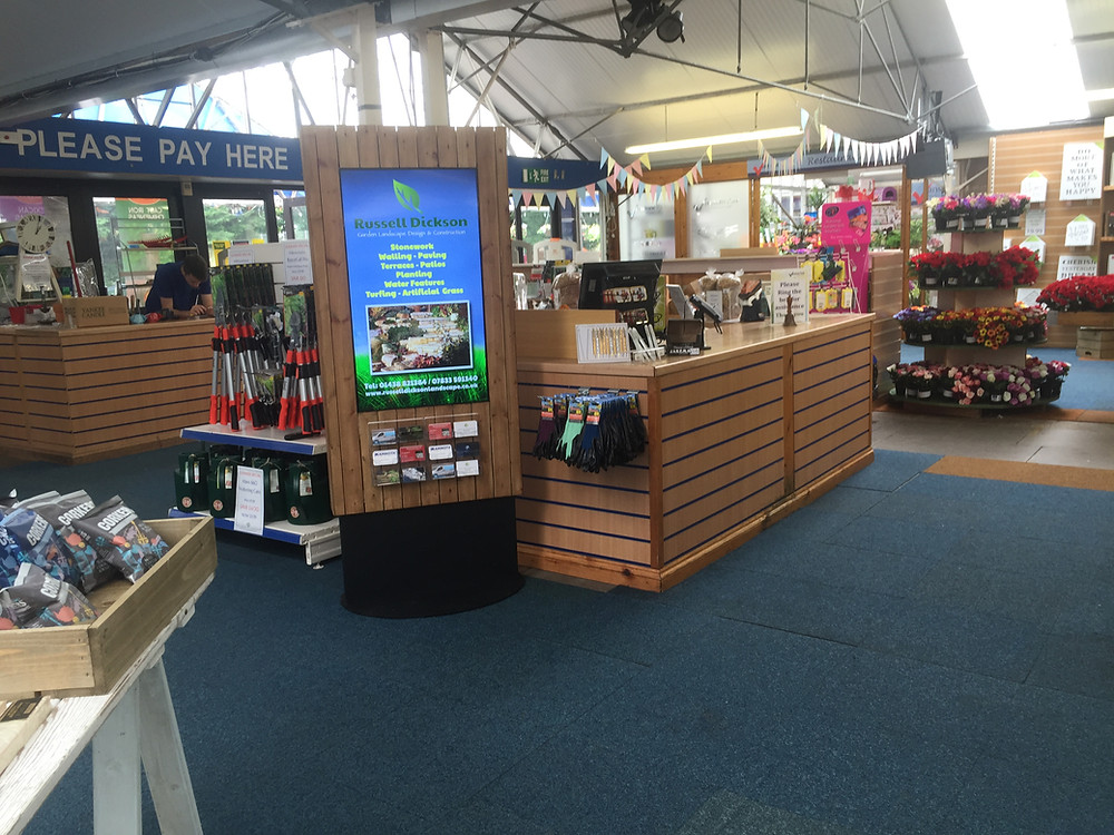 Vanstone Park Garden Centre Digital Signage Screen