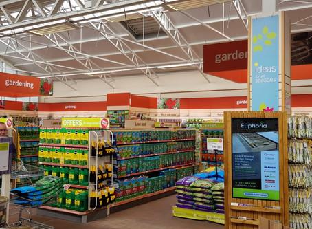 Haskins Garden Centre Digital Signage Plant Finder Kiosk.