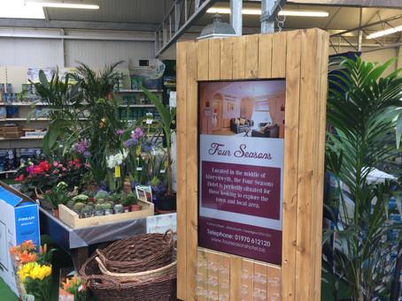 Newmans Garden Centre Digital Signage