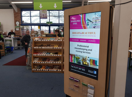 Altons Garden Centre Digital Signage