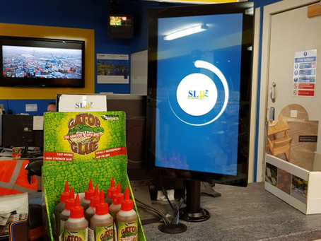 Trade Counter Digital Signage
