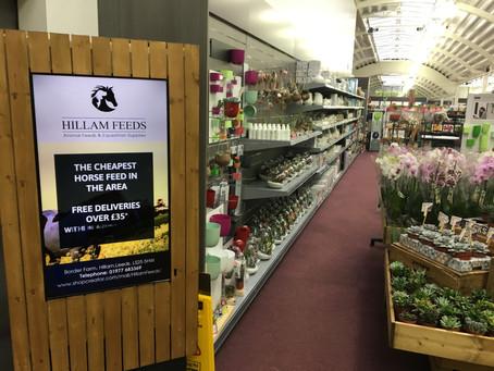 Garforth Garden Centre Digital Signage