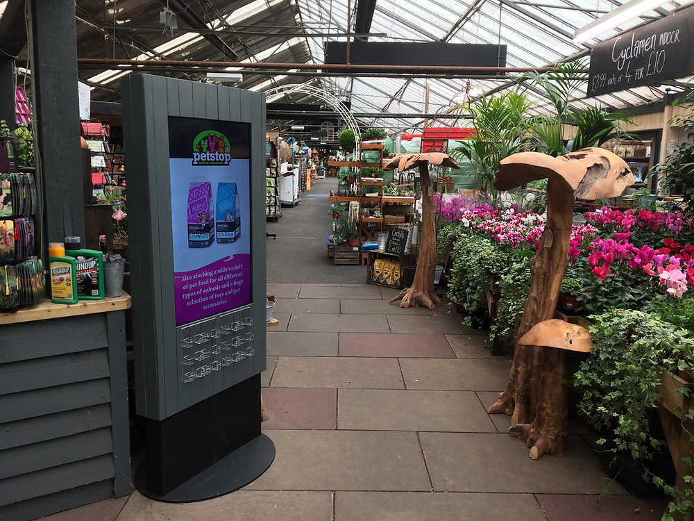 Garden Centre Digital Signage