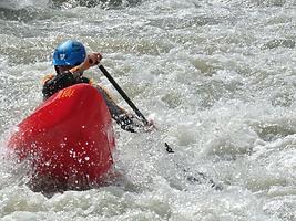 whitewater canoeing, whitewater kayaking, Costa Rica