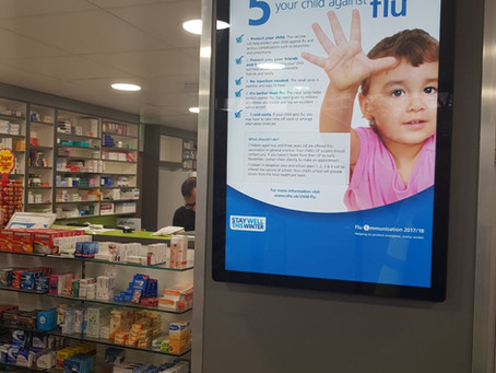 Janssens Pharmacy Digital Signage