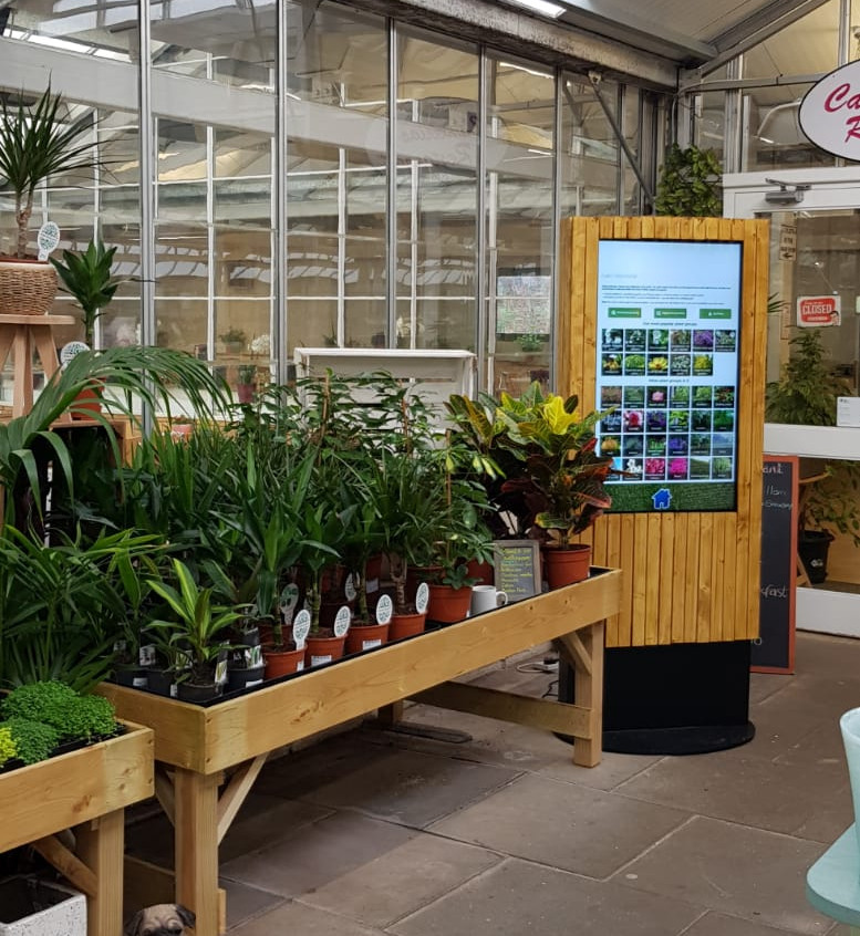 Everton Plant Finder Kiosk