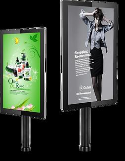 Trade counter digital signage