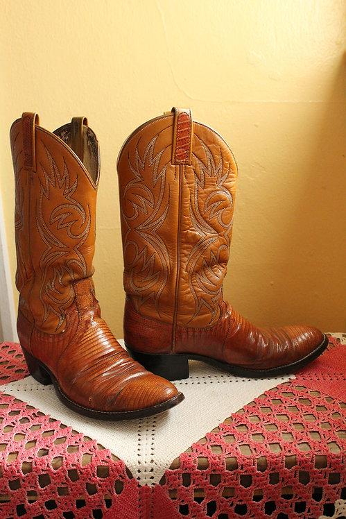 70s Dan Post Cowboy Boots