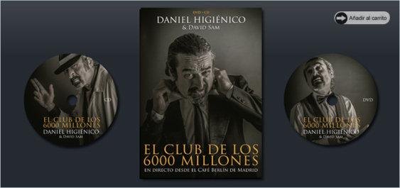 """DVD+CD  """"EL CLUB DE LOS 6000 MILLONES"""""""