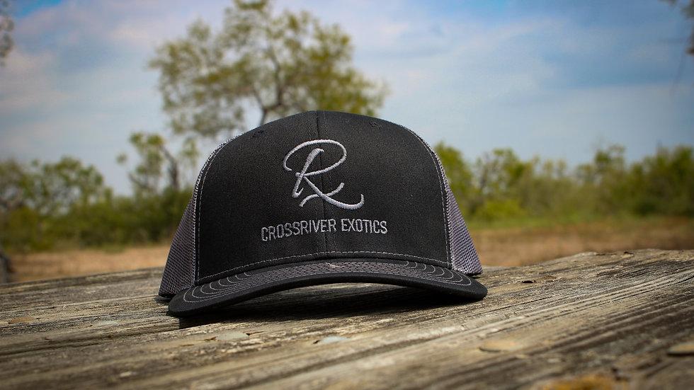CRE Black Logo Hat