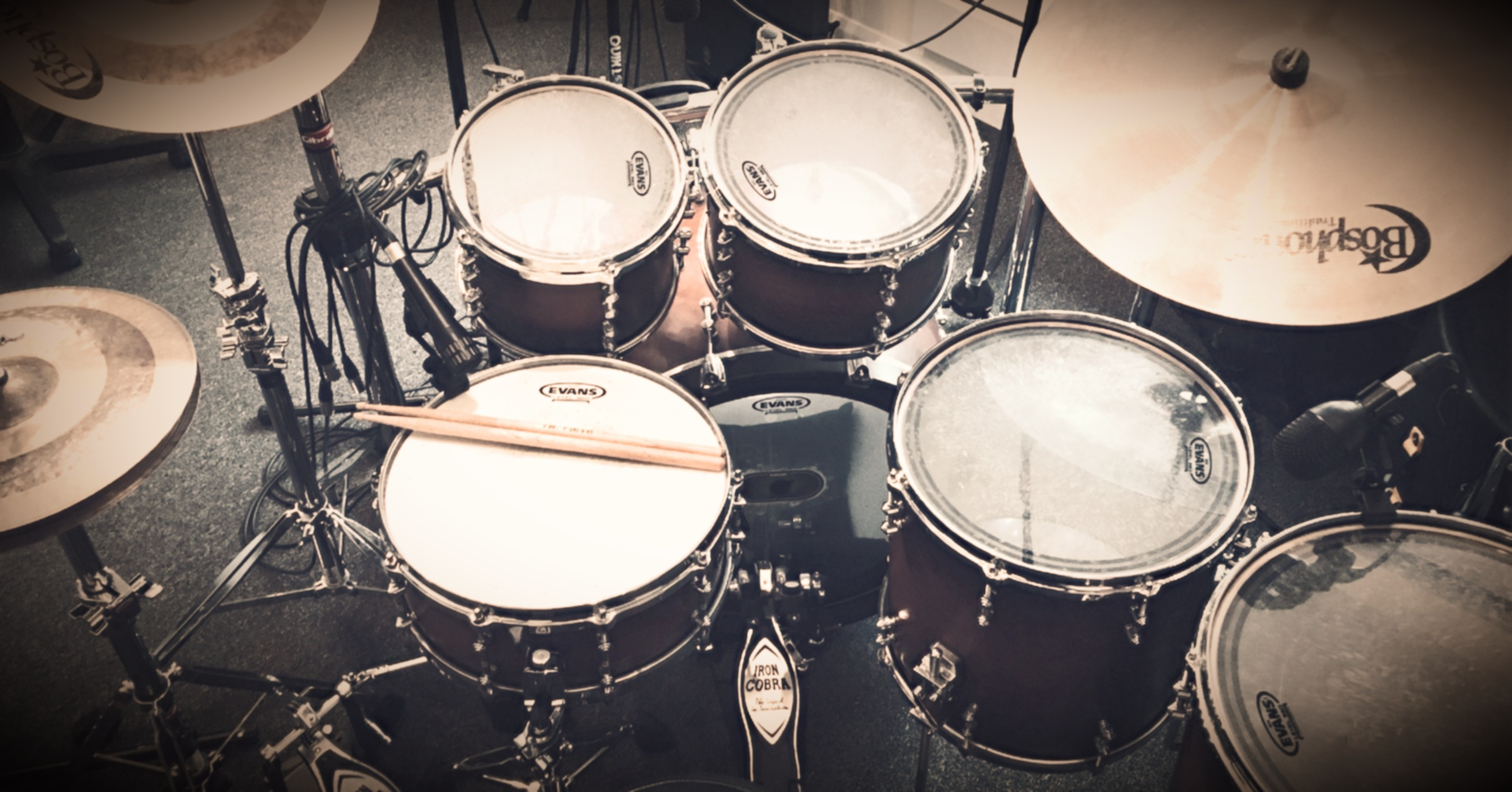 Drum Lesson (In Studio) - One Hour