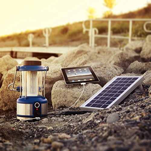Solar LED Lantern with Device Charging