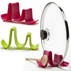 Pot Lid & Cooking Spoon Stand Holder
