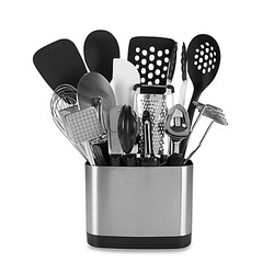 Cooking Utensils and Holders Set