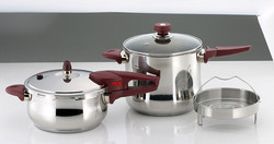 Stainless Steel Pressure Cooker Set