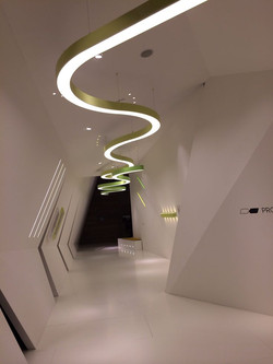 Ceiling Light Curvy