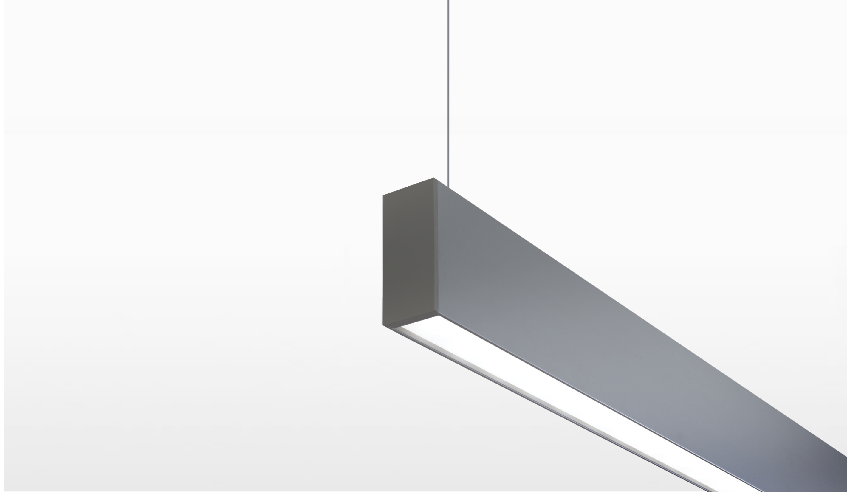ultra narrow ceiling light