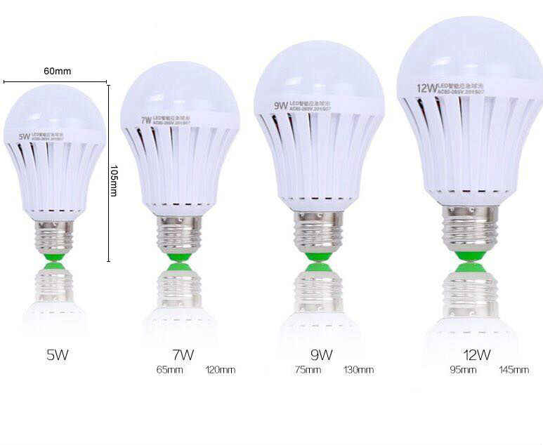 Emergency LED Bulb Multiple sizes