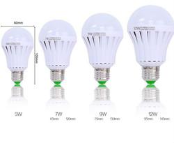Emergency LED Bulb Multiple sizes