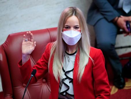 La senadora Joanne Rodríguez Veve radica medidas para combatir el nepotismo