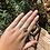 "Thumbnail: Silver ""Soph"" ring (size Q)"