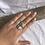 Thumbnail: Lex ring- Size Q