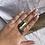 Thumbnail: Berty ring - size R