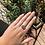 """Thumbnail: Silver """"Soph"""" ring (size X)"""