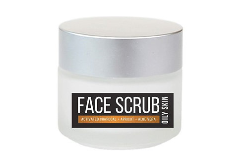 FACIAL SCRUB w | Activated Charcoal