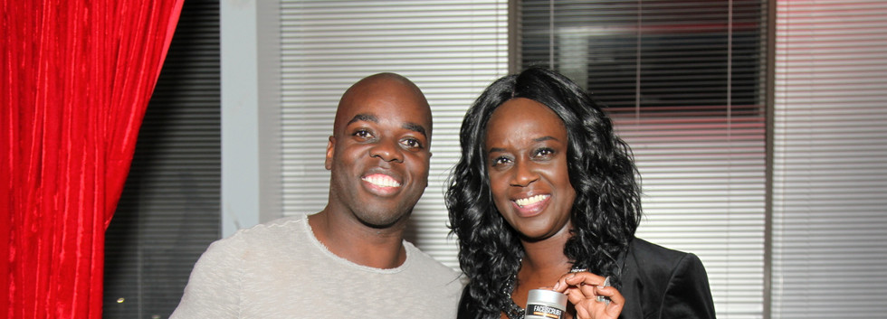 Shawn Cuffie aka Mr. Black Diamond Ball at Mens Grooming Collection Product Launch