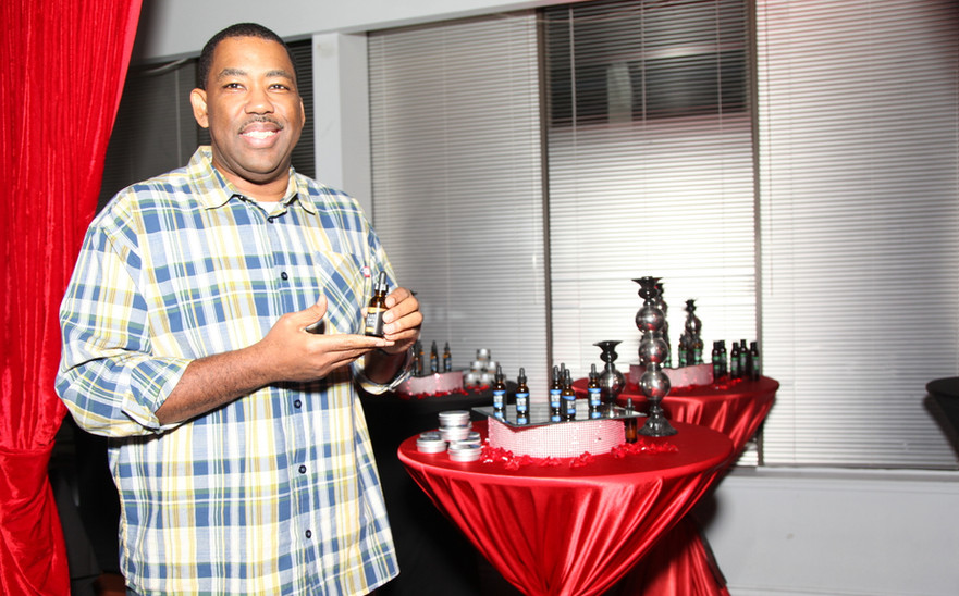 Open Doors Realty at the  Mens Grooming Collection Product Launch