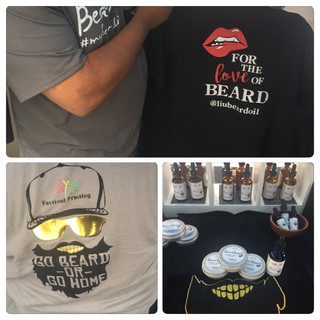 """Lite It Up """"For the Love of the Beard Tee-shirt"""