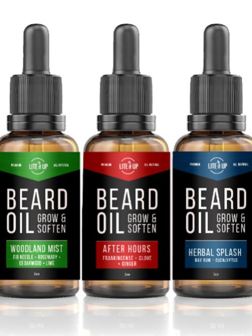 BEARD OIL TRIO GIFT PACK - Group 1