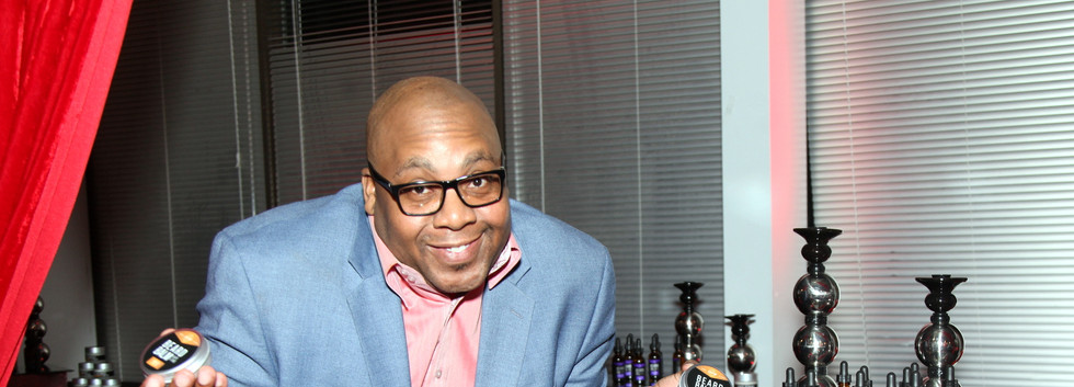 Comedian Mr. Jay Martin at the  Mens Grooming Collection Product Launch