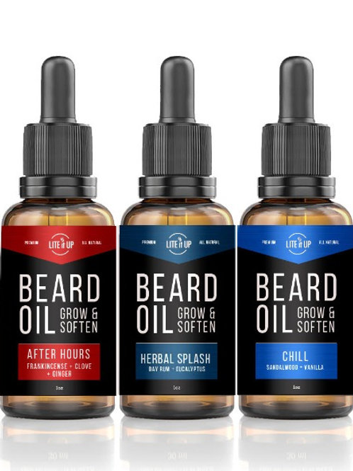 BEARD OIL TRIO GIFT PACK - Group 4