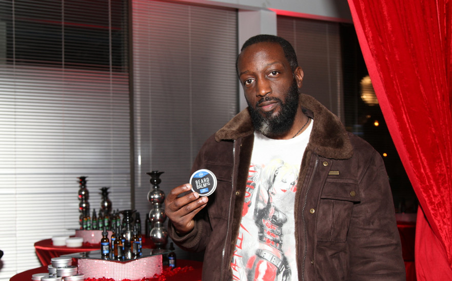 Artist/Musician Ray Robinson Mens Grooming Collection Product Launch