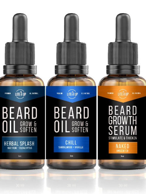 BEARD OIL TRIO GIFT PACK - Group 2