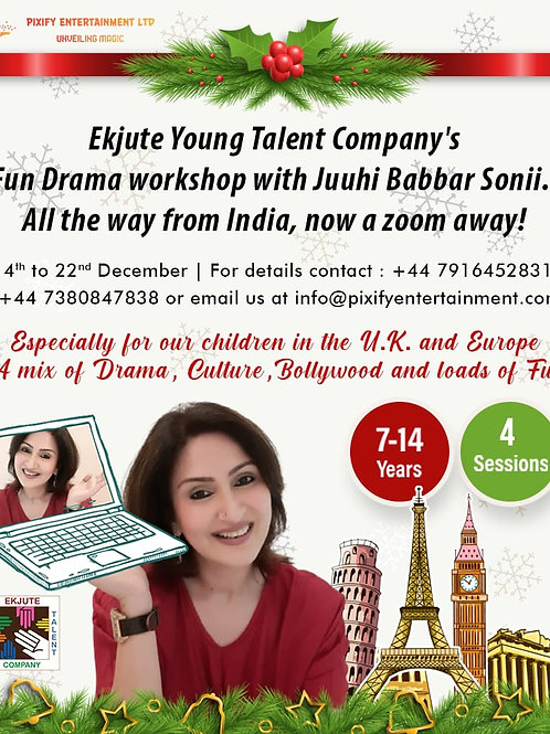 FunAnd Talent Workshop by Ekjute Young Talent Company