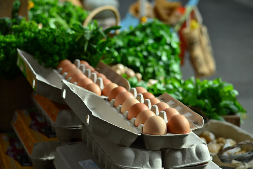 Free Range Eggs 600g