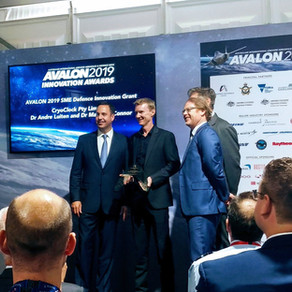 Double Awards for Cryoclock at the 2019 Avalon Airshow