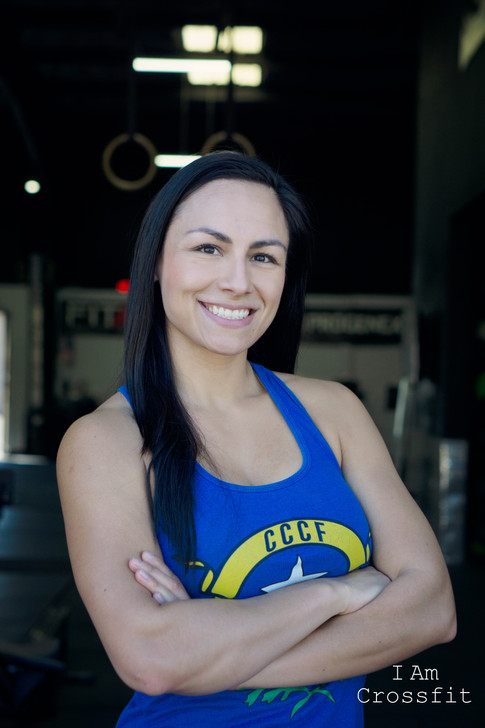 Rosa Elia Gonzalez 32 yrs old  And I started on October 2016  I was tired of working out at a gym by myself and not feeling challenged with my workouts. Plus after meeting up with Martita for lunch and seeing her results I was inspired to try crossfit. The daily challenge, the music, the people and the results made me fall in love with it!!