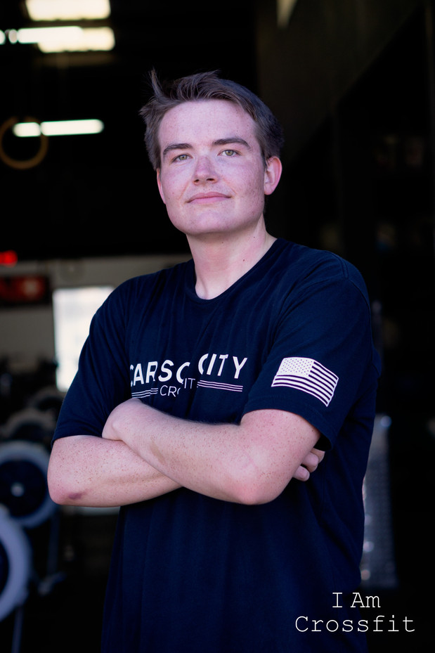Jack Williams. 17 years old. Started 2012. I was in the 7th grade and my dad was attending at Carson City Crossfit, I wanted to hang out with dad.