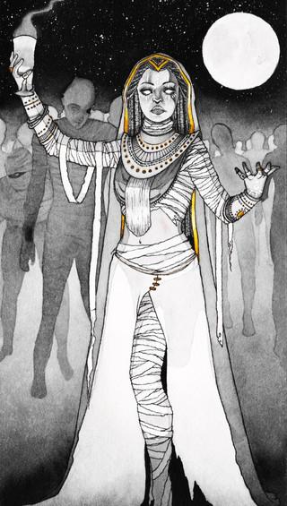 Priestess in Ink