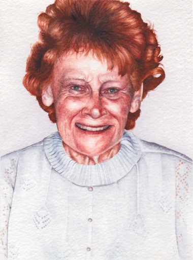 Nanny in Watercolour