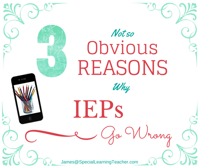 Individualized Education Plans (IEP's): What Could Go Wrong?