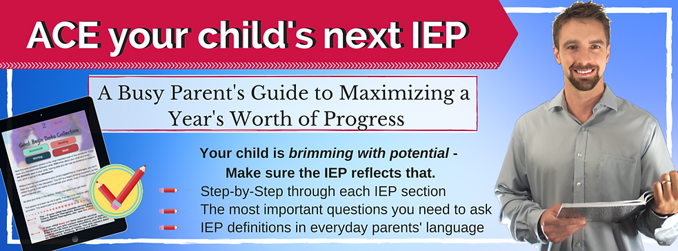 A busy parent's guide to maximizing a year's worth of progress, ace your child's next IEP meeting